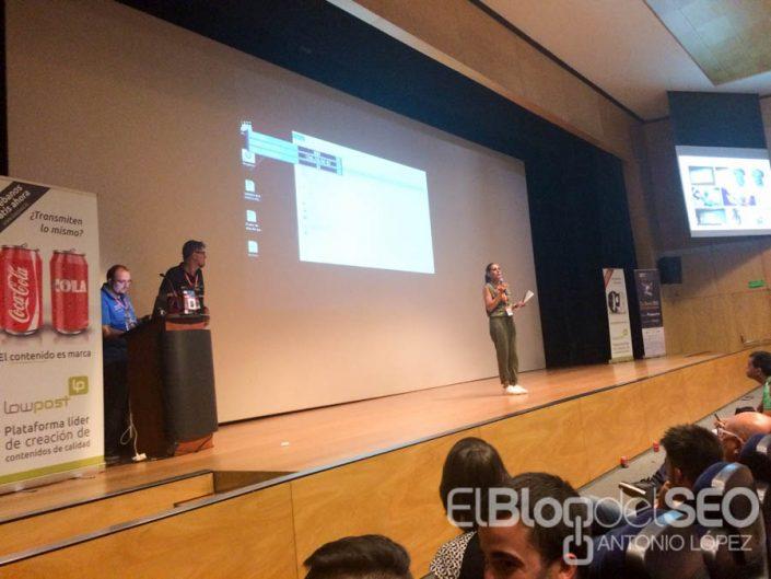 Alicia Senovilla presentación de Gosende