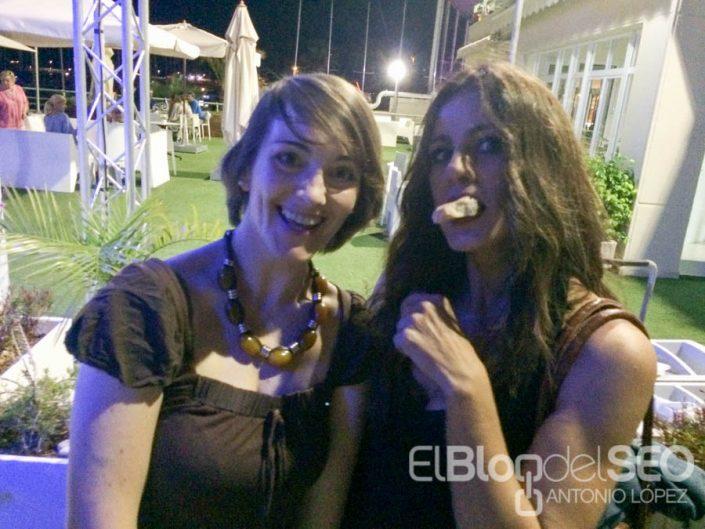 Alicia Senovilla y Elia Guardiola